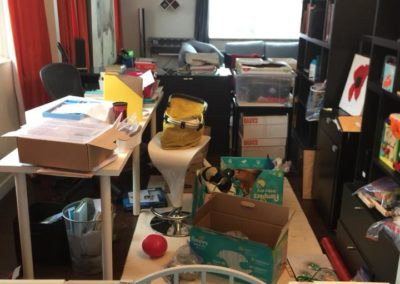Home office space before