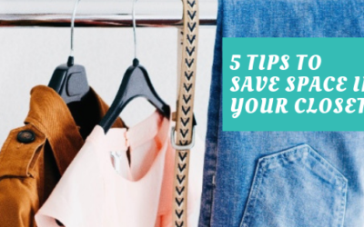 5 Tips To Help Save Space In Your Closet