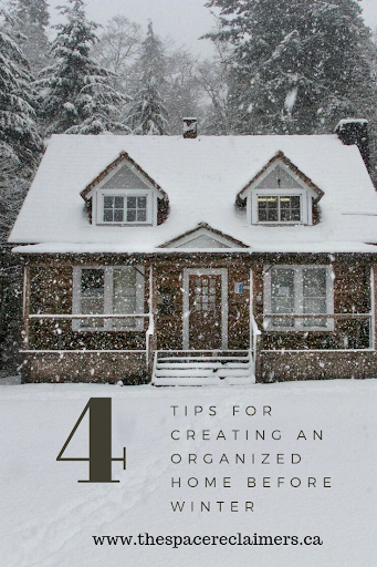 4 Tips for Creating an Organized Home Before Winter